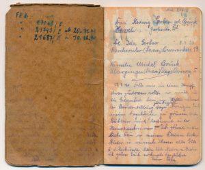 Jakob Gerber's Tagebuch 1940